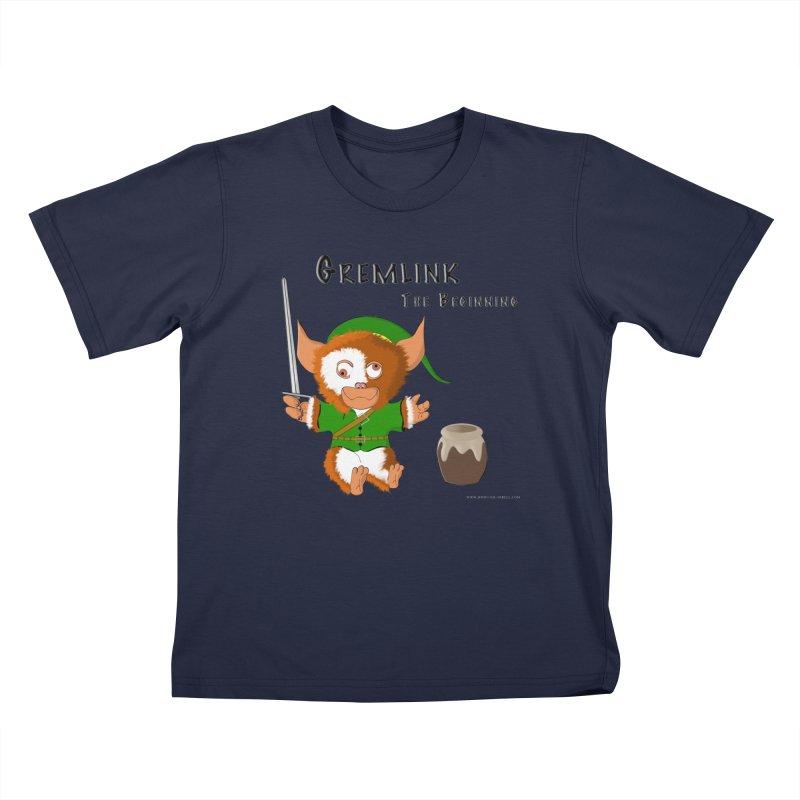Gremlink Kids T-Shirt by Every Drop's An Idea's Artist Shop