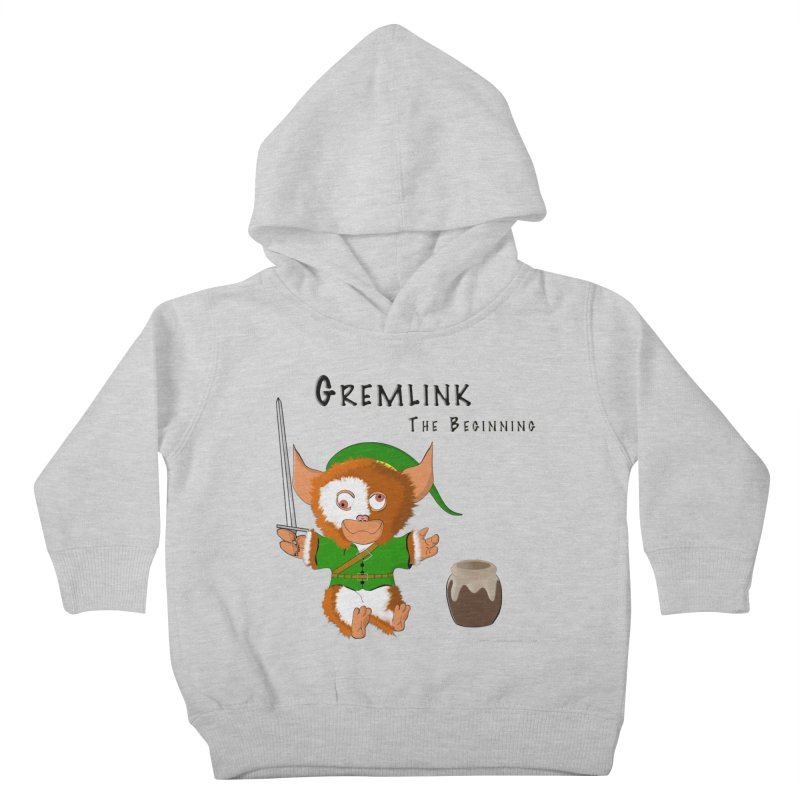 Gremlink Kids Toddler Pullover Hoody by Every Drop's An Idea's Artist Shop