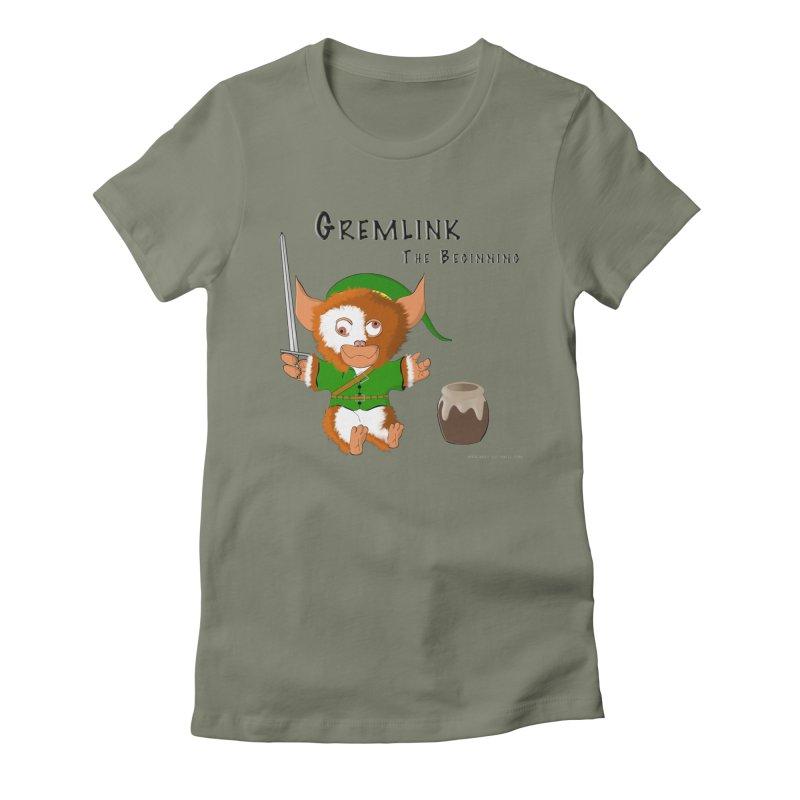 Gremlink Women's Fitted T-Shirt by Every Drop's An Idea's Artist Shop