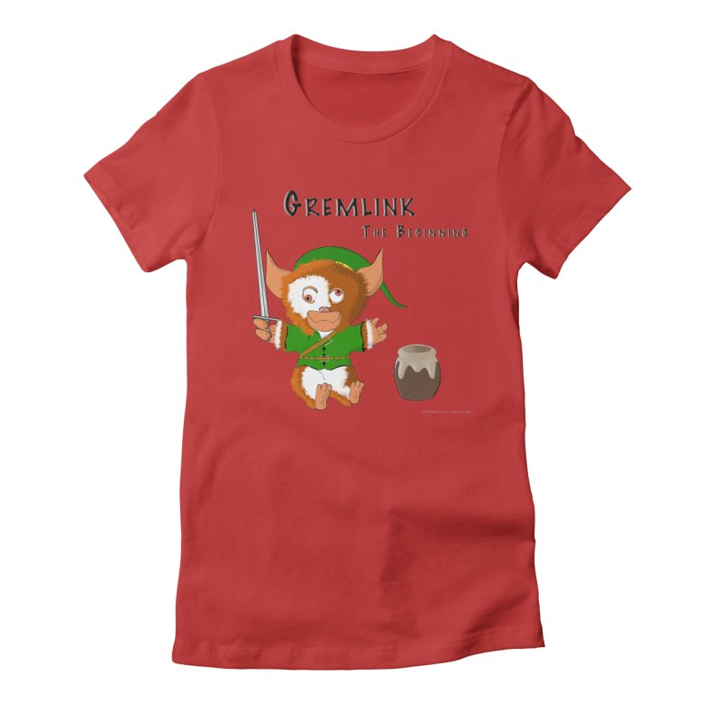 Gremlink Women's Fitted T-Shirt by Every Drop's An Idea's Artist Shop