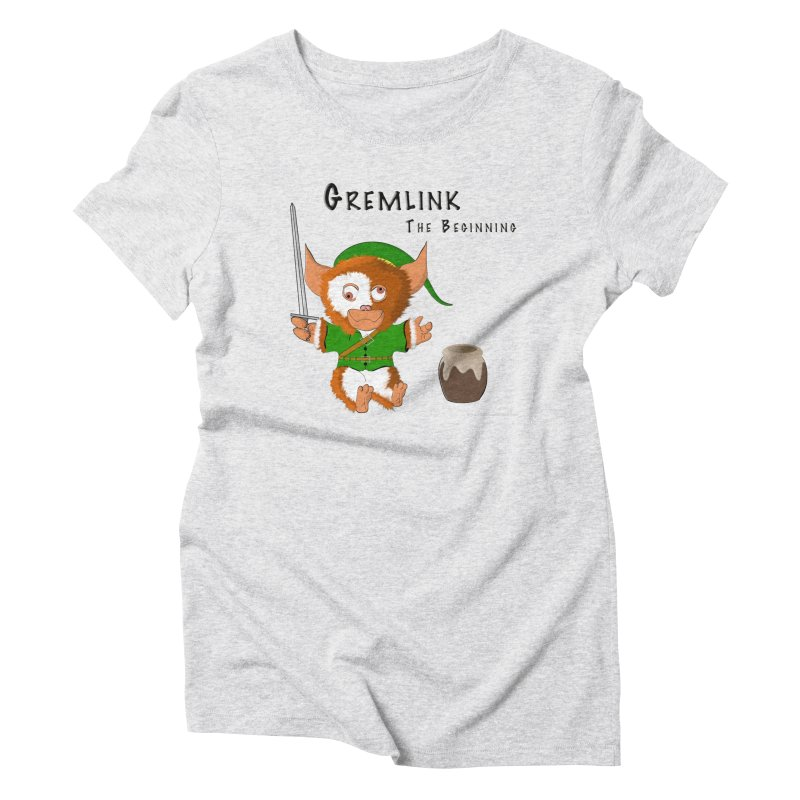 Gremlink Women's Triblend T-Shirt by Every Drop's An Idea's Artist Shop
