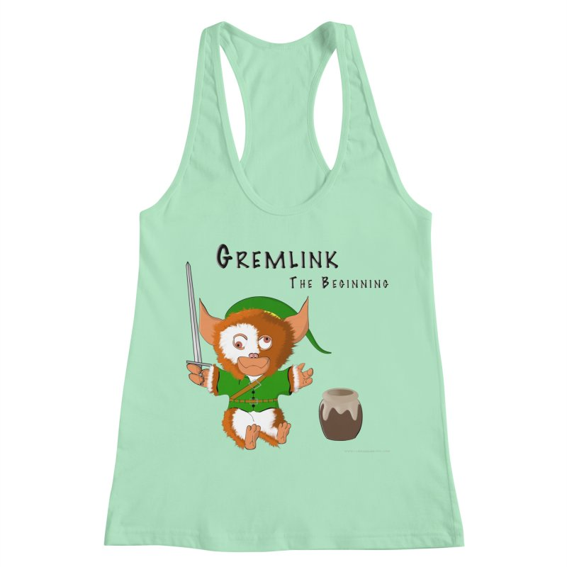 Gremlink Women's Racerback Tank by Every Drop's An Idea's Artist Shop
