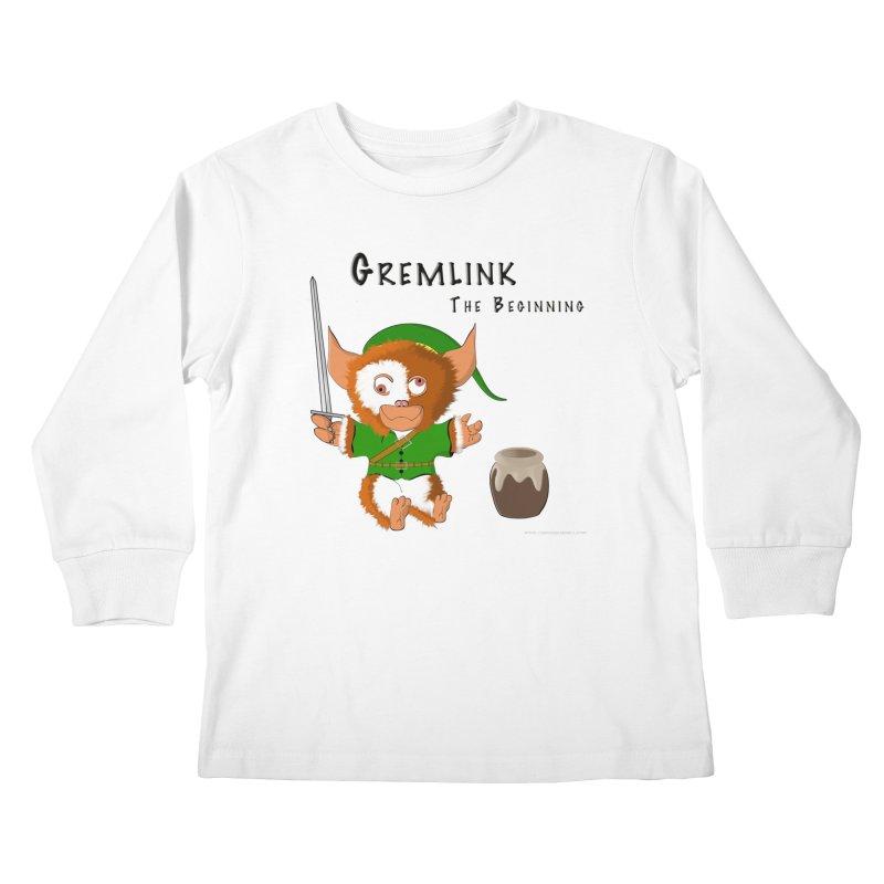 Gremlink Kids Longsleeve T-Shirt by Every Drop's An Idea's Artist Shop