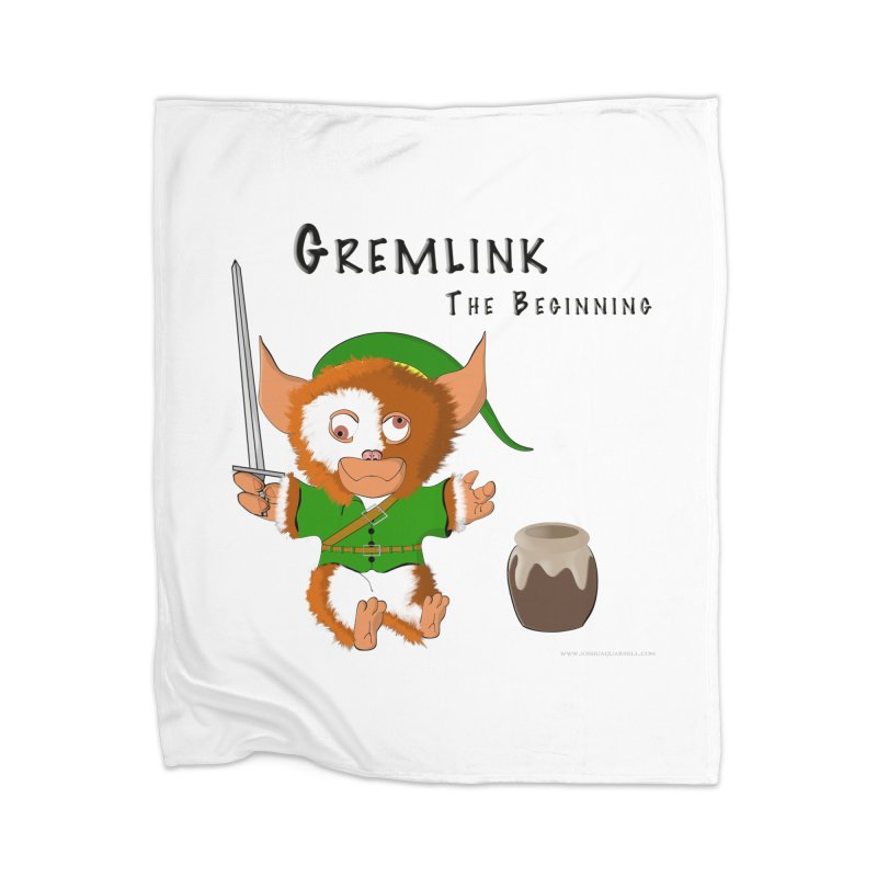 Gremlink Home Blanket by Every Drop's An Idea's Artist Shop