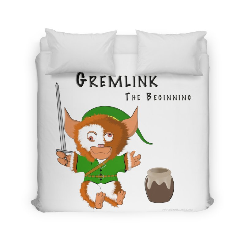 Gremlink Home Duvet by Every Drop's An Idea's Artist Shop