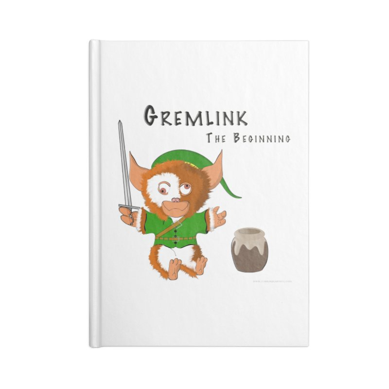 Gremlink Accessories Notebook by Every Drop's An Idea's Artist Shop