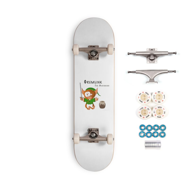Gremlink Accessories Complete - Premium Skateboard by Every Drop's An Idea's Artist Shop