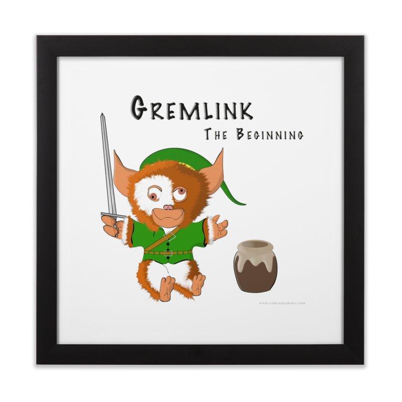 Gremlink Home Framed Fine Art Print by Every Drop's An Idea's Artist Shop
