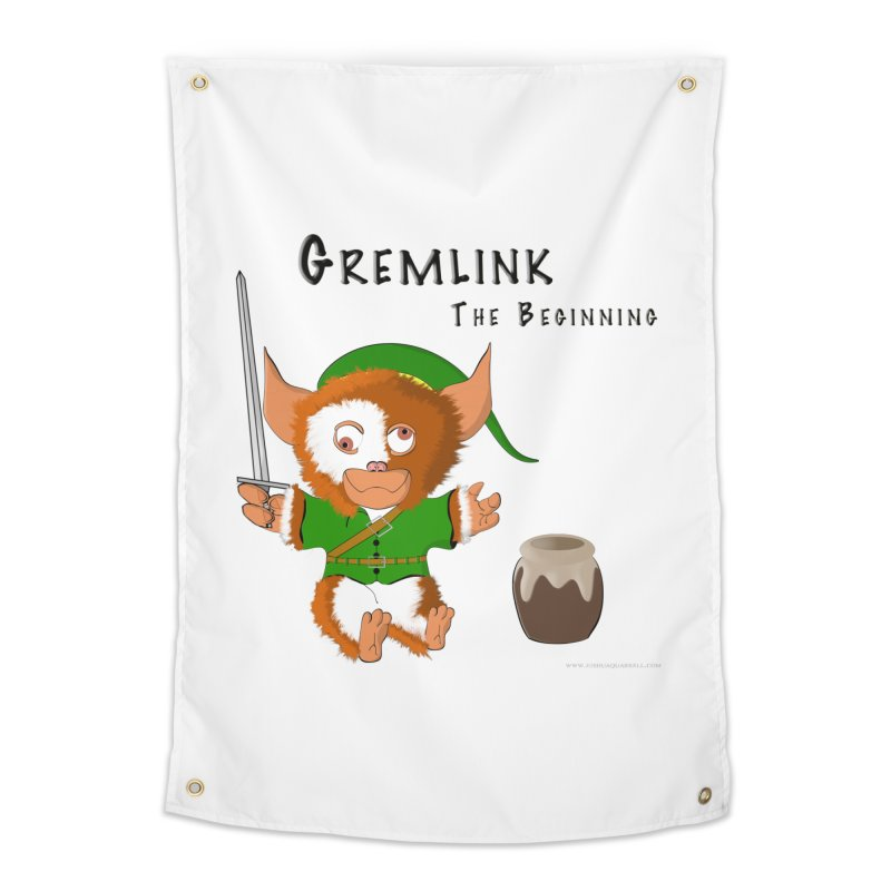 Gremlink Home Tapestry by Every Drop's An Idea's Artist Shop