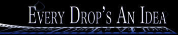 Every Drop's An Idea's Artist Shop Logo