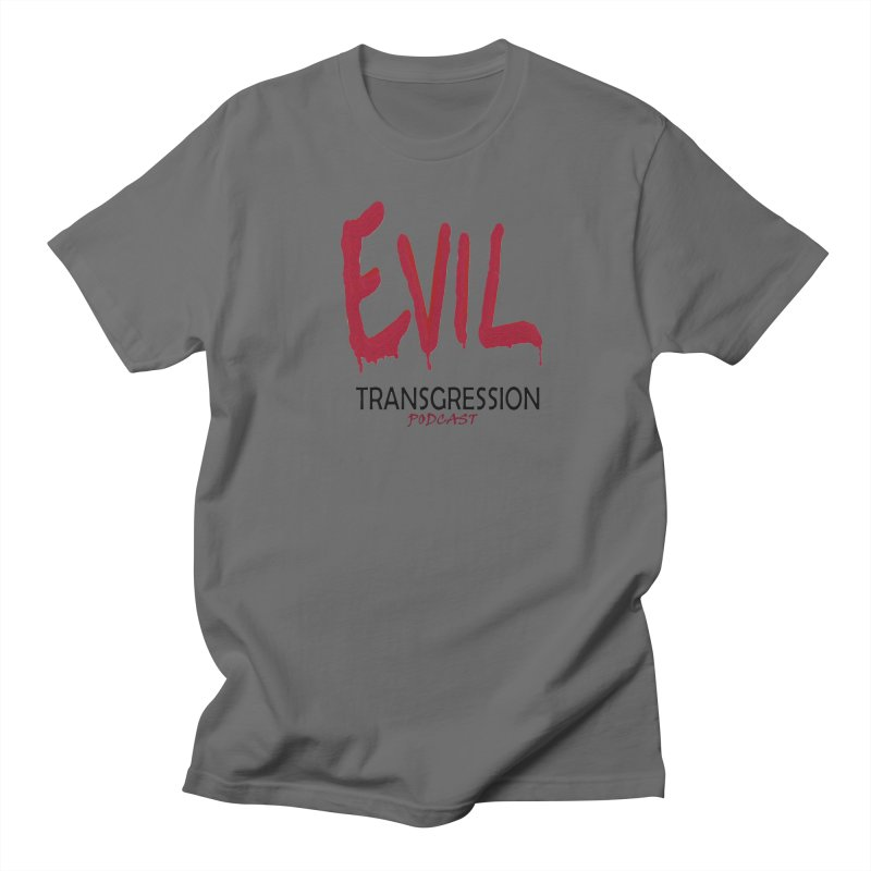 Throwback Logo Men's T-Shirt by Evil Transgression Podcast