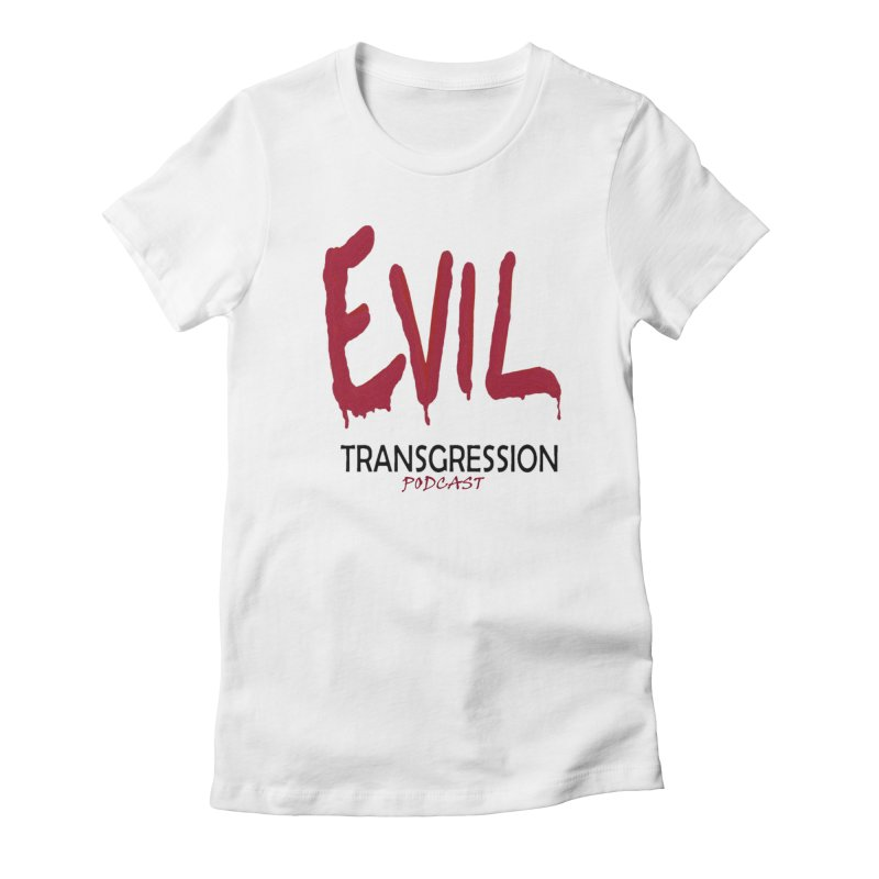 Throwback Logo Women's T-Shirt by Evil Transgression Podcast