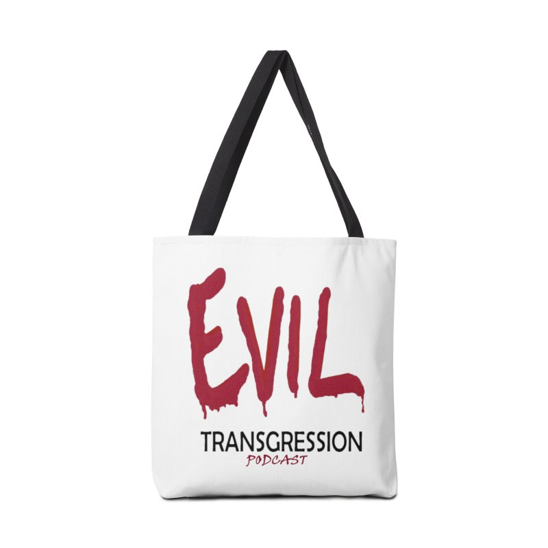 Throwback Logo Accessories Bag by Evil Transgression Podcast
