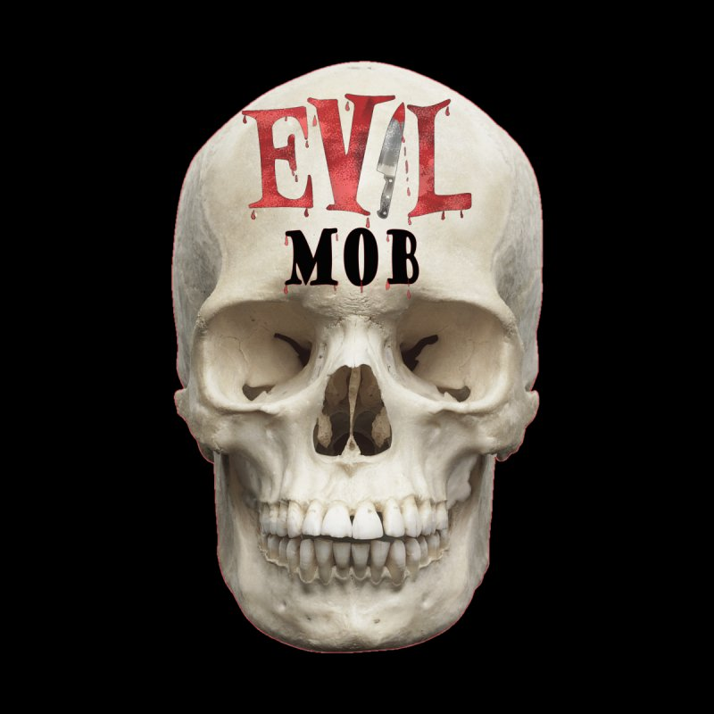 Evil Mob Skull Men's T-Shirt by Evil Transgression Podcast