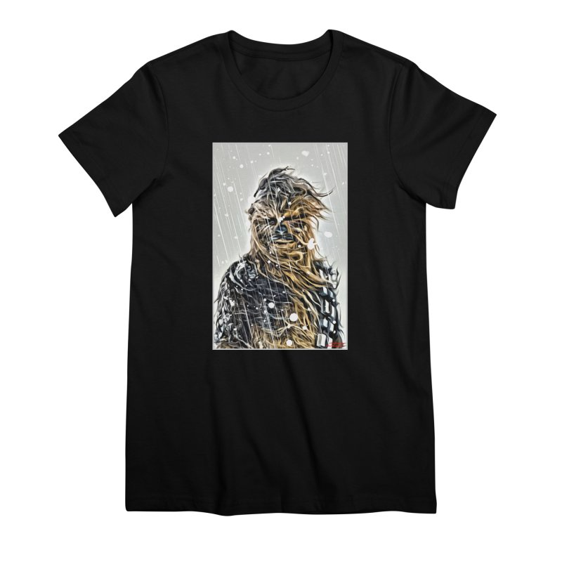 Chewbacca Women's Premium T-Shirt by Evolution Comics INC