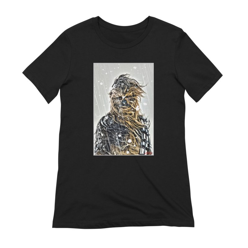Chewbacca Women's Extra Soft T-Shirt by Evolution Comics INC