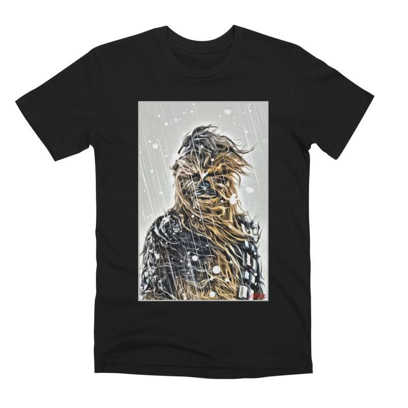 Chewbacca Men's Premium T-Shirt by Evolution Comics INC
