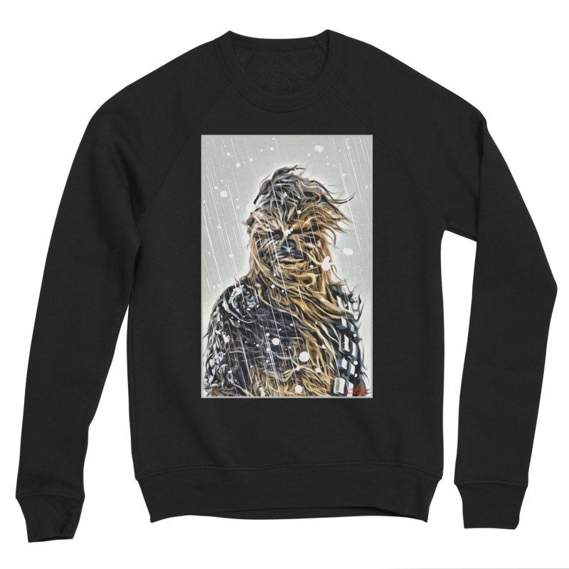 Chewbacca Men's Sponge Fleece Sweatshirt by Evolution Comics INC