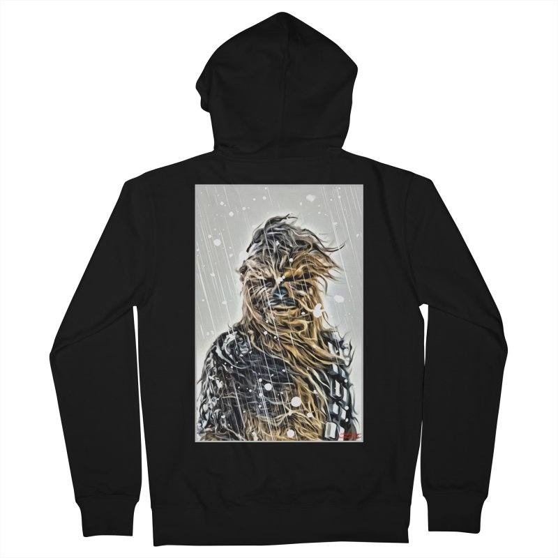 Chewbacca Men's French Terry Zip-Up Hoody by Evolution Comics INC