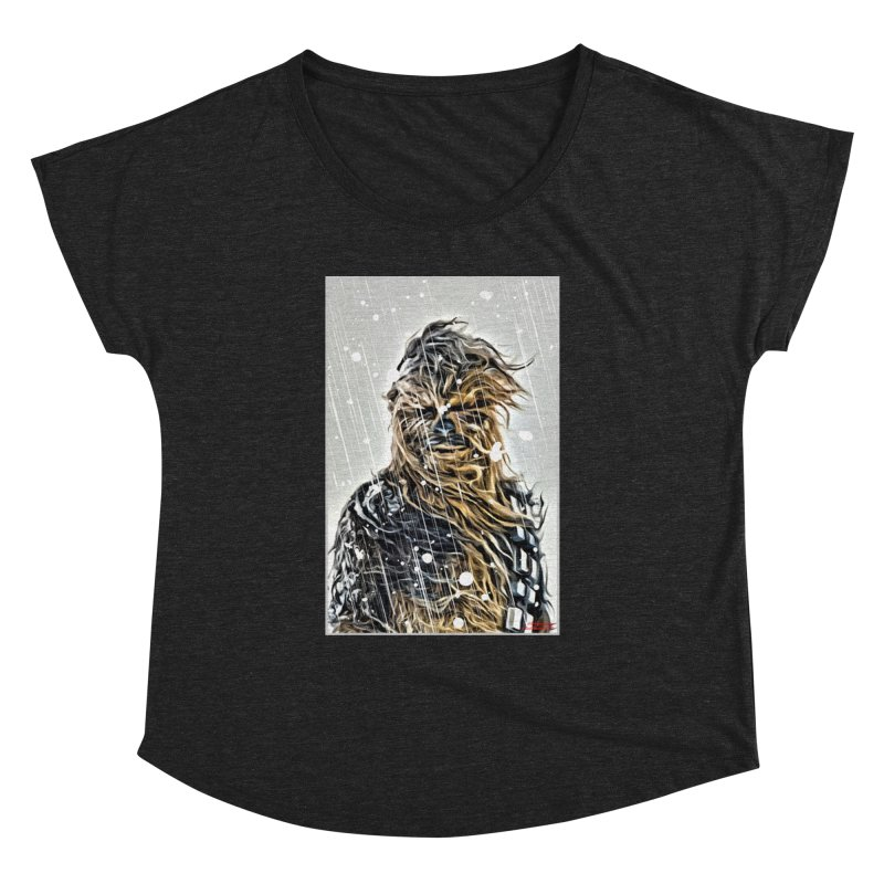 Chewbacca Women's Dolman Scoop Neck by Evolution Comics INC