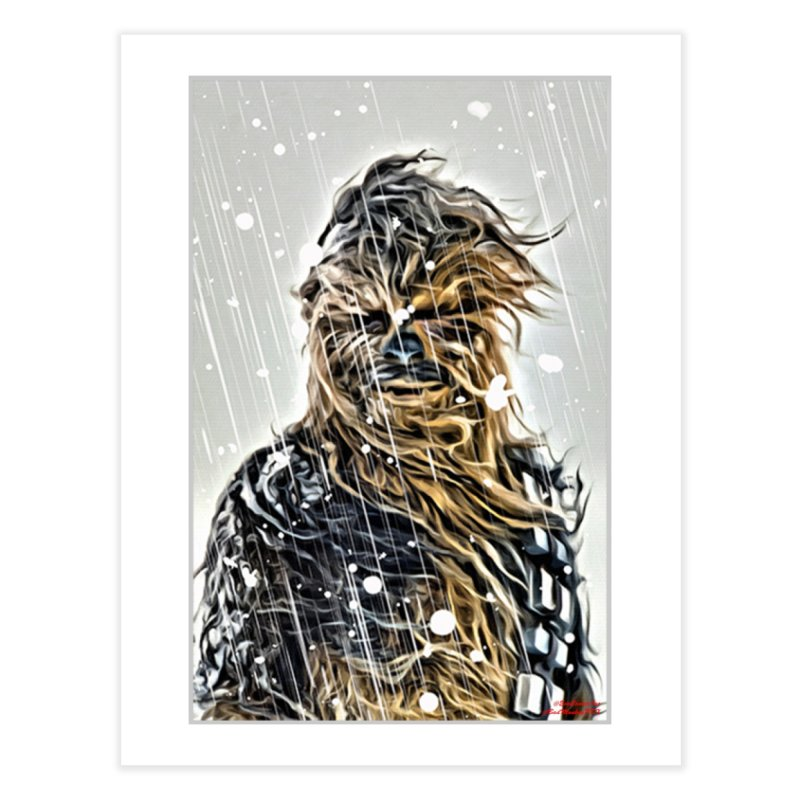 Chewbacca Home Fine Art Print by Evolution Comics INC