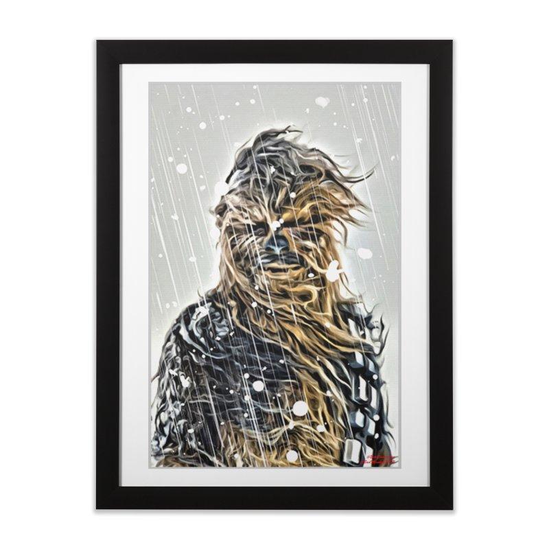 Chewbacca Home Framed Fine Art Print by Evolution Comics INC