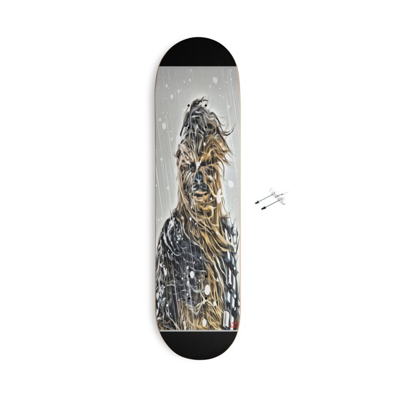Chewbacca Accessories With Hanging Hardware Skateboard by Evolution Comics INC
