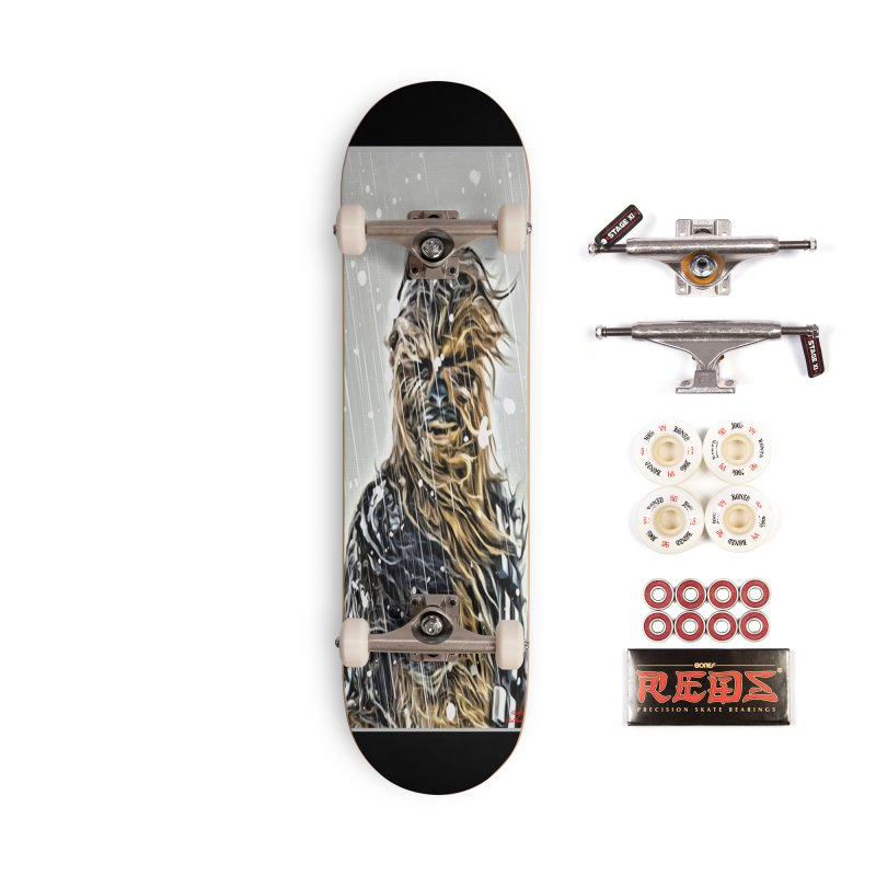 Chewbacca Accessories Complete - Pro Skateboard by Evolution Comics INC