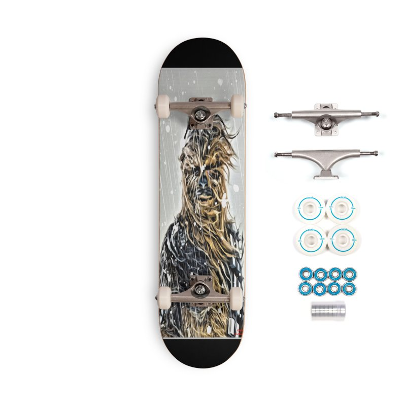 Chewbacca Accessories Complete - Basic Skateboard by Evolution Comics INC