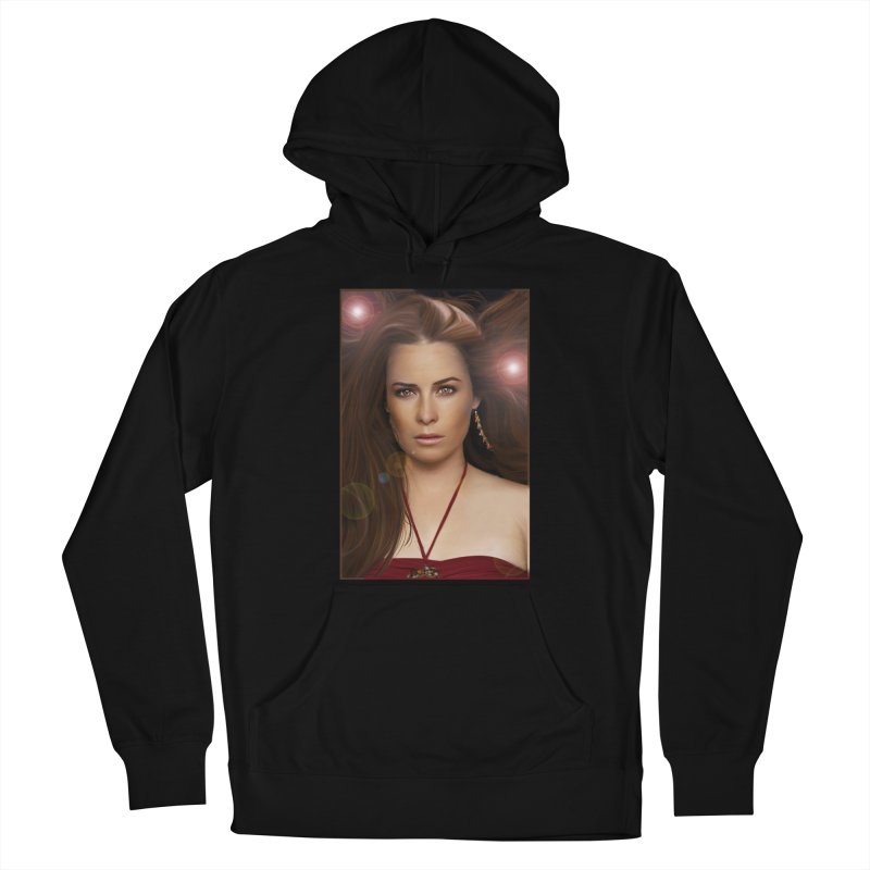 Piper Halliwell / Holly Marie Combs Men's French Terry Pullover Hoody by Evolution Comics INC
