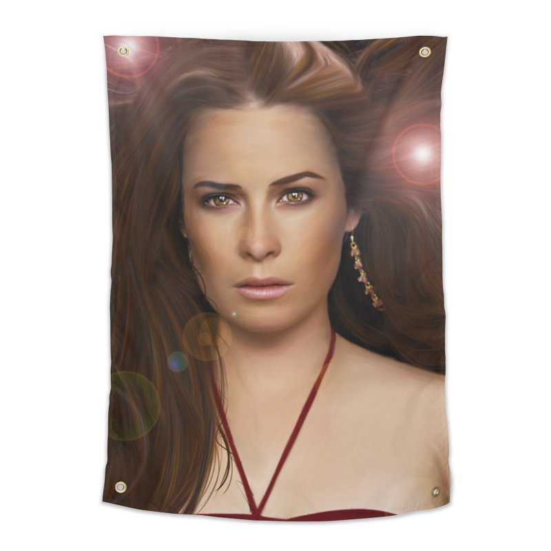 Piper Halliwell / Holly Marie Combs Home Tapestry by Evolution Comics INC
