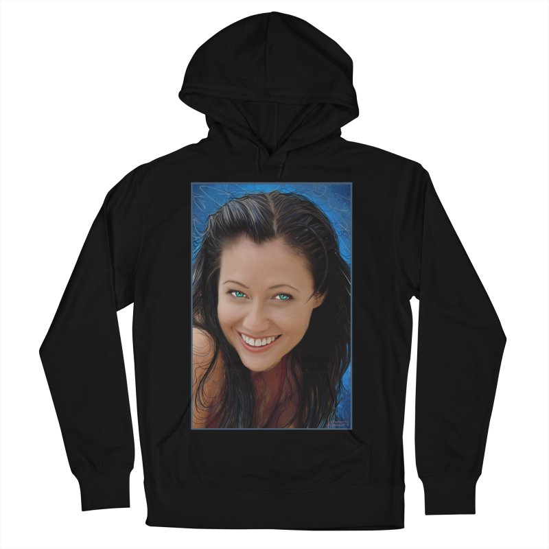 Prue Halliwell / Shannen Doherty Men's French Terry Pullover Hoody by Evolution Comics INC