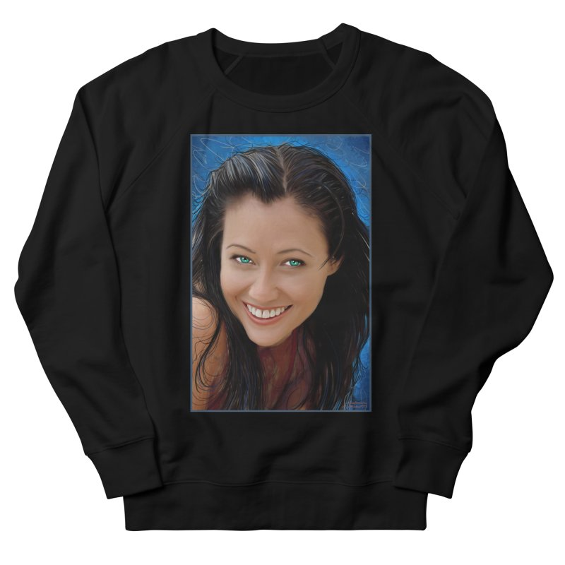 Prue Halliwell / Shannen Doherty Women's French Terry Sweatshirt by Evolution Comics INC