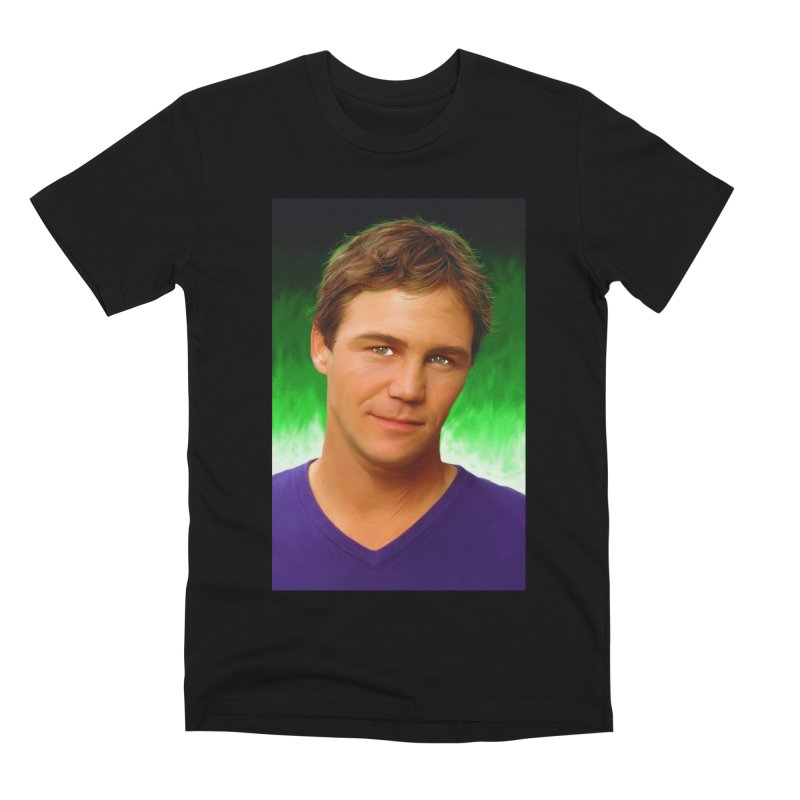 Leo Wyatt / Brian Krause Men's Premium T-Shirt by Evolution Comics INC
