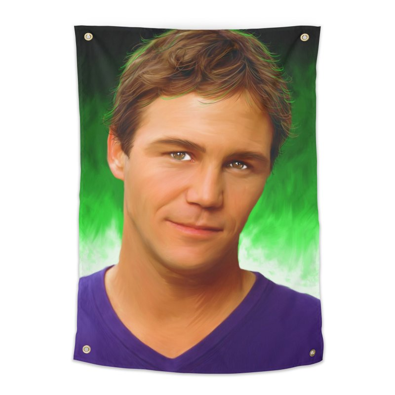 Leo Wyatt / Brian Krause Home Tapestry by Evolution Comics INC
