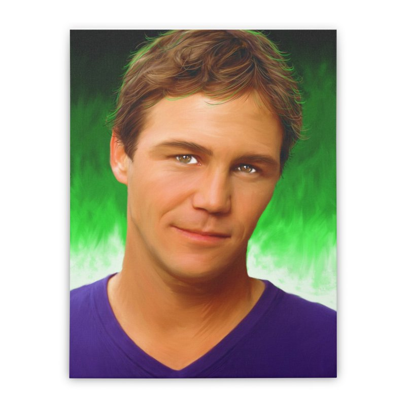 Leo Wyatt / Brian Krause Home Stretched Canvas by Evolution Comics INC