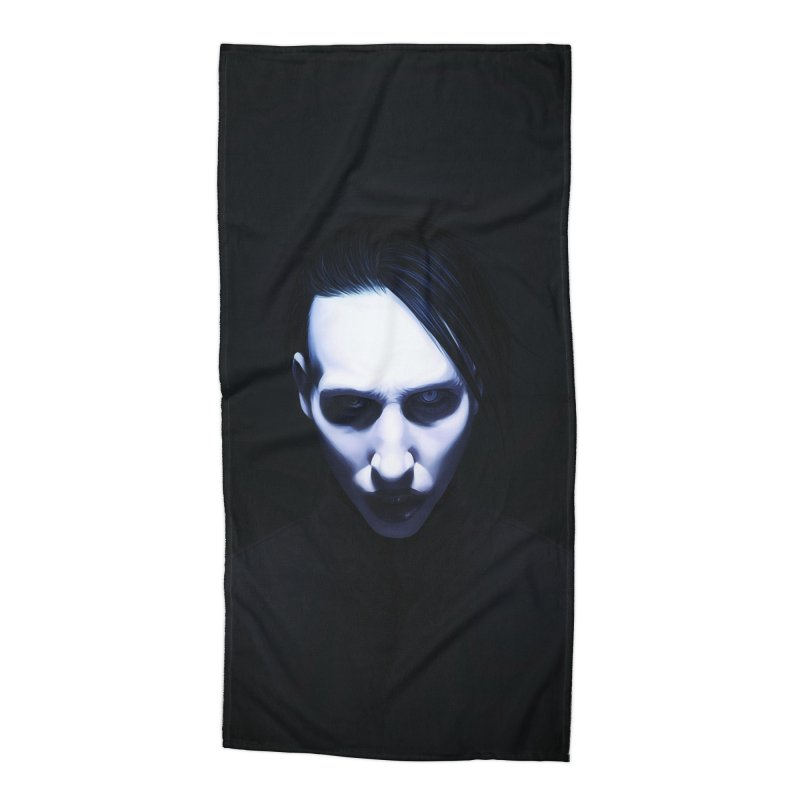 Marilyn Manson Accessories Beach Towel by Evolution Comics INC