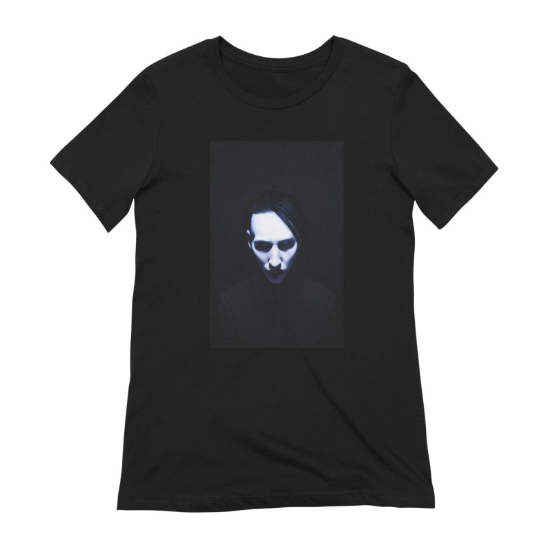 Marilyn Manson Women's Extra Soft T-Shirt by Evolution Comics INC