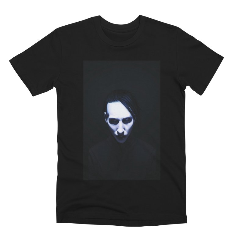 Marilyn Manson Men's Premium T-Shirt by Evolution Comics INC