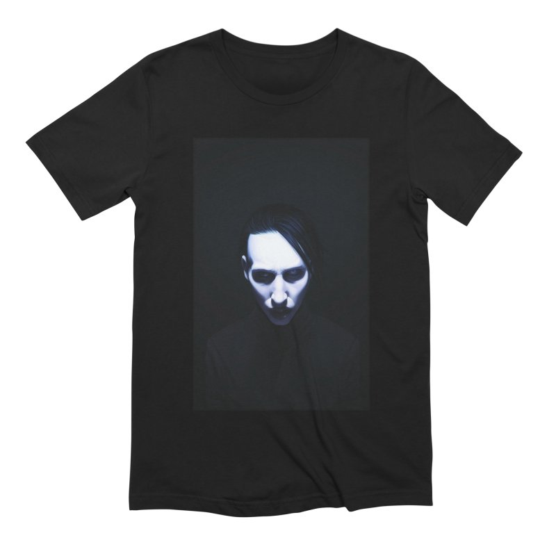 Marilyn Manson Men's Extra Soft T-Shirt by Evolution Comics INC