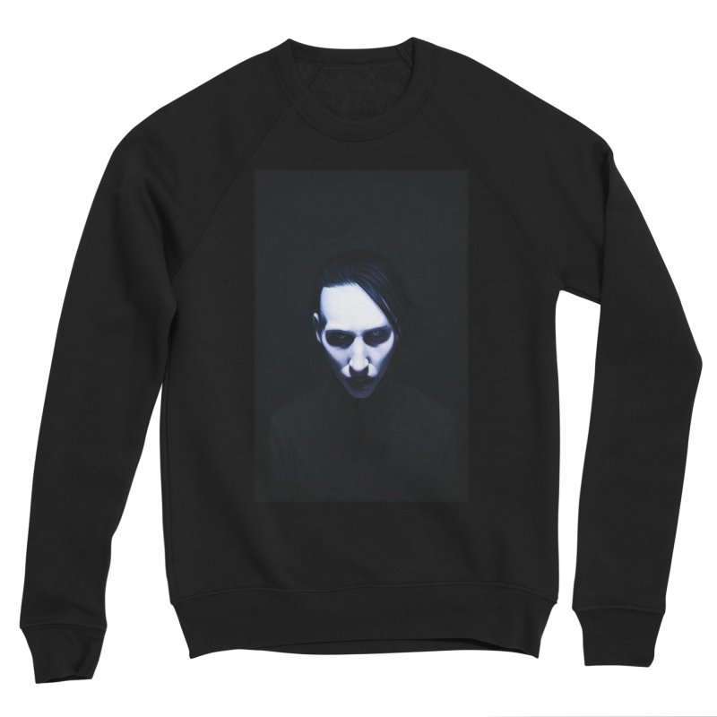 Marilyn Manson Men's Sponge Fleece Sweatshirt by Evolution Comics INC