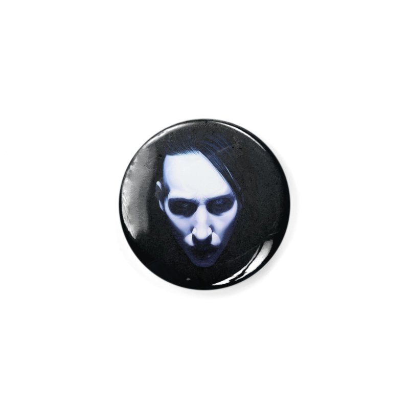 Marilyn Manson Accessories Button by Evolution Comics INC