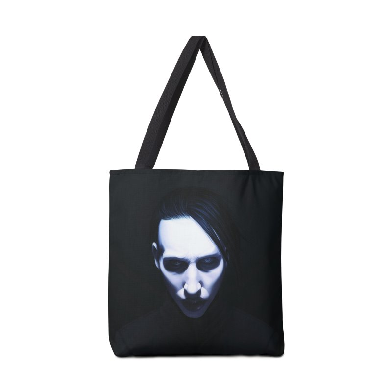 Marilyn Manson Accessories Tote Bag Bag by Evolution Comics INC