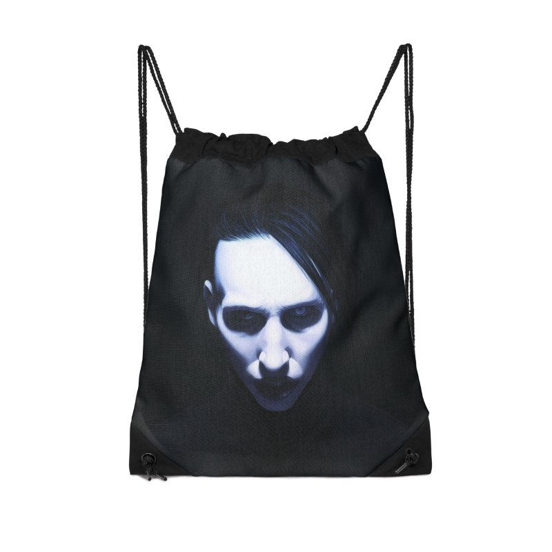 Marilyn Manson Accessories Drawstring Bag Bag by Evolution Comics INC