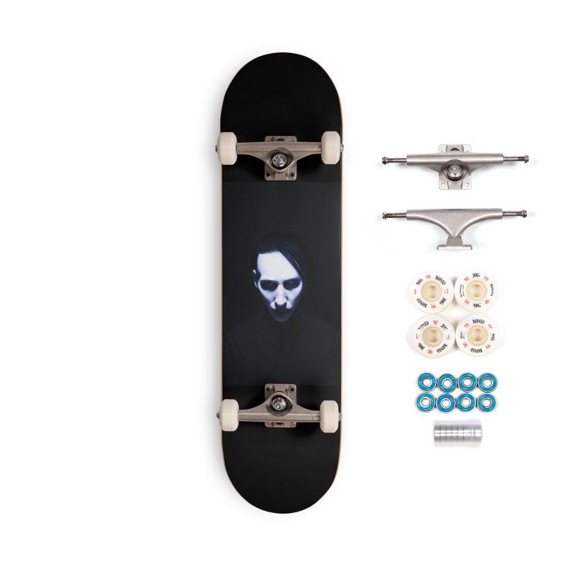 Marilyn Manson Accessories Complete - Premium Skateboard by Evolution Comics INC