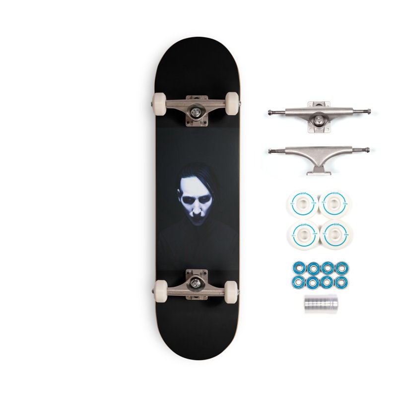 Marilyn Manson Accessories Complete - Basic Skateboard by Evolution Comics INC