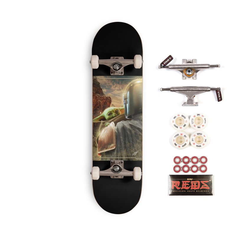 Mando, Hold My Baby Accessories Complete - Pro Skateboard by Evolution Comics INC