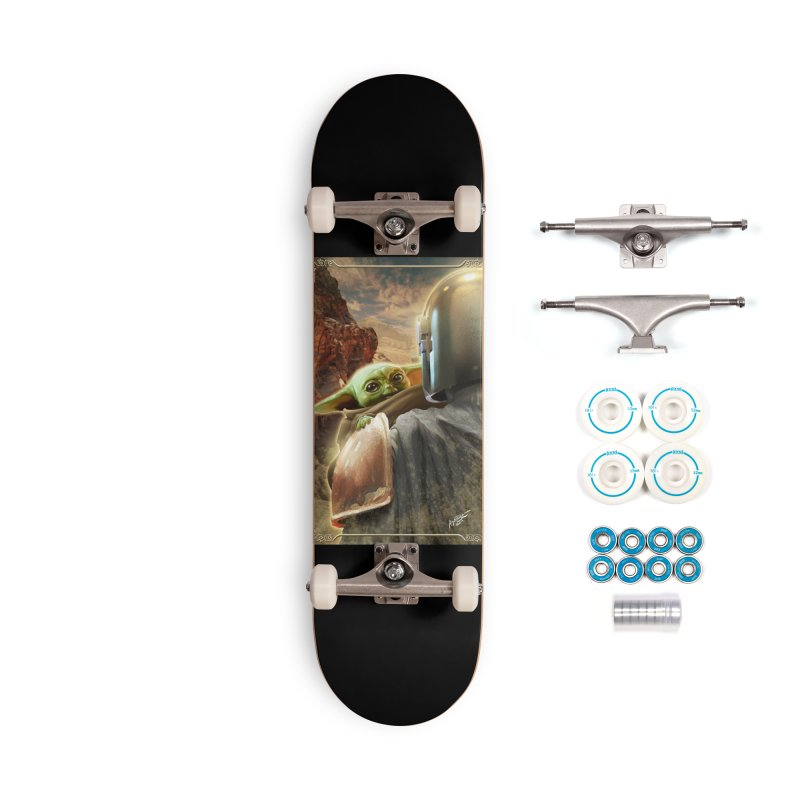 Mando, Hold My Baby Accessories Complete - Basic Skateboard by Evolution Comics INC