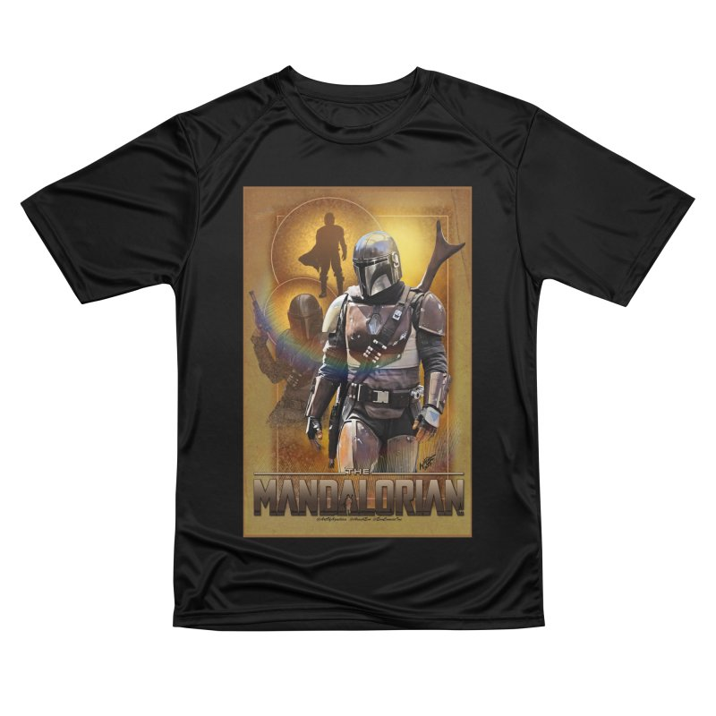 Star Wars - Mandalorian Men's Performance T-Shirt by Evolution Comics INC