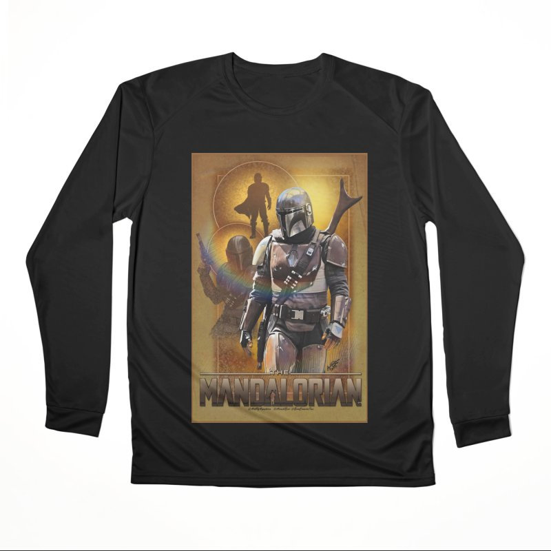 Star Wars - Mandalorian Men's Performance Longsleeve T-Shirt by Evolution Comics INC